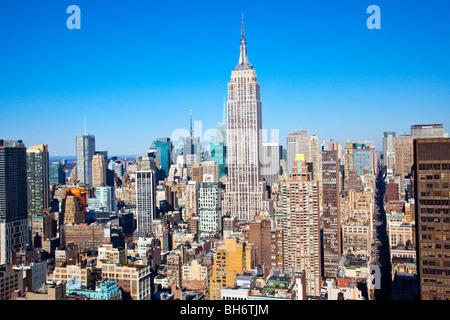 Empire State Building, New York City - Stockfoto