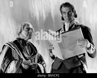 SZENE MIT RAYMOND MASSEY EINE ANGELEGENHEIT VON LEBEN UND TOD; STAIRWAY TO HEAVEN (1946) - Stockfoto