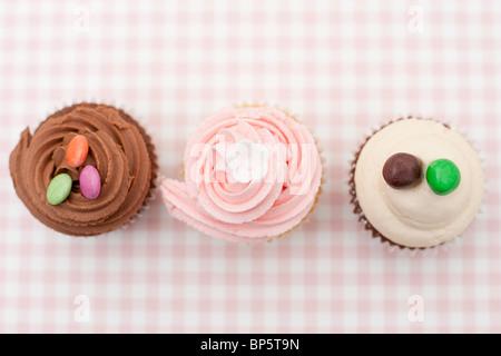 Eiskaffee-Muffins - Stockfoto