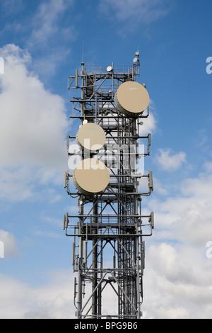 Mobile Telefon Turm Aintree Liverpool A580 - Stockfoto