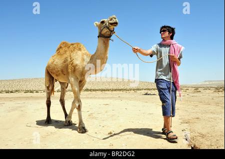 Die Negev-Wüste Reisen und Tourismus Fotografie nach Süd-Israel - Stockfoto