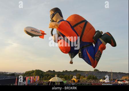 Hot Air Balloon Festival 2010 in Warstein Deutschland - Stockfoto