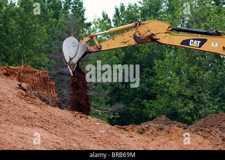 CAT 330d Bagger Trackhoe - Stockfoto