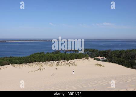 Cap Ferret und la Dune du Pilat Frankreich September 2010 - Stockfoto
