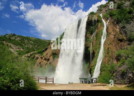 Krcic Wasserfälle - Wasserfall Krcic 05 - Stockfoto