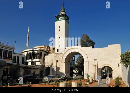 Östlichen Stadt Tor Bab Sharqi, Damaskus, UNESCO-Weltkulturerbe, Syrien, Nahost, Westasien - Stockfoto