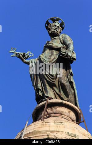 Trajans Spalte, Rom, Italien, Europa - Stockfoto