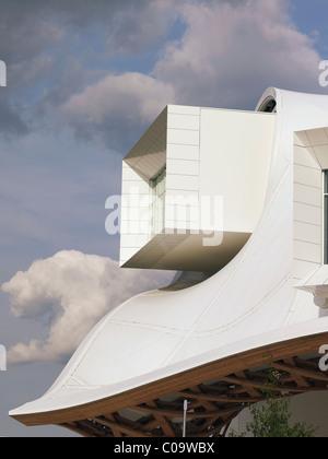 Details der neuen Niederlassung des Paris Centre Pompidou in Metz, Lothringen, Frankreich, Europa - Stockfoto