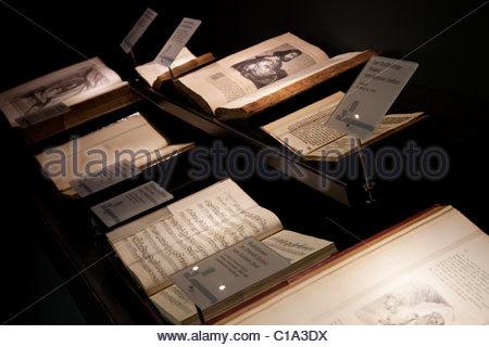 Orlando Opera die Notizbücher von Georg Fridiric Händel - Stockfoto