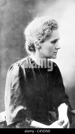 Marie Curie, 1911 - Stockfoto