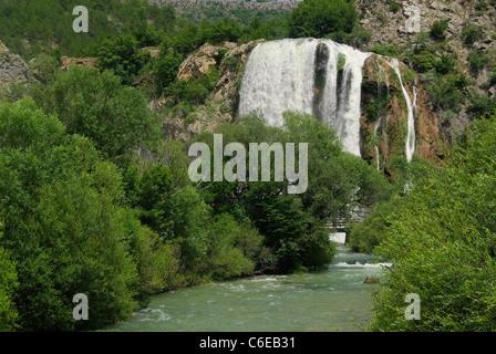 Krcic Wasserfälle - Wasserfall Krcic 01 - Stockfoto