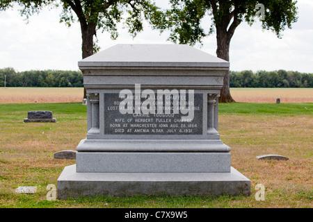 Titanic Memorial Graveside Marker - Stockfoto