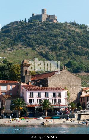 Collioure in Südfrankreich - Stockfoto