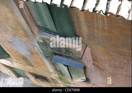 Abgelagerten Haus Details in Rovinj, Istrien, Kroatien - Stockfoto