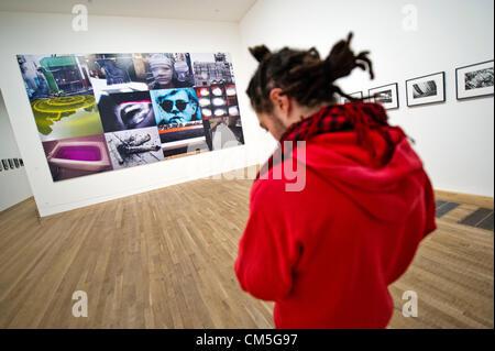 London, UK. 8. Oktober 2012. Tate Modern neue Ausstellung der Arbeiten von William Klein + Daido Moriyama (Arbeit - Stockfoto