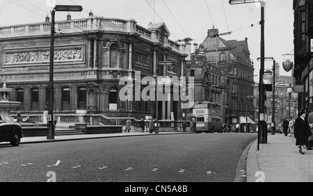City Art Gallery, Lichfield Street, Wolverhampton, 1950er Jahre. - Stockfoto