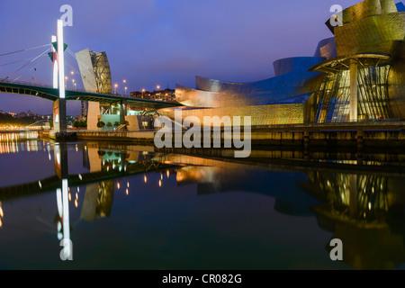 Guggenheim Museum in Bilbao, Spanien - Stockfoto