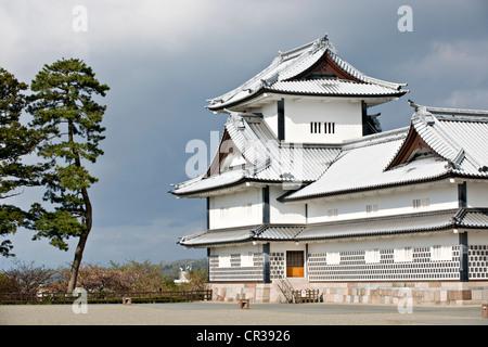 Japan, Insel Honshu, Chubu Region, Kanazawa, die Burg - Stockfoto