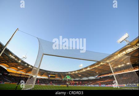 Fußballspiel im Gottlieb-Daimler-Stadion, Deutschland, Stuttgart - Stockfoto