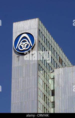 Hauptsitz der ThyssenKrupp AG in Düsseldorf - Stockfoto