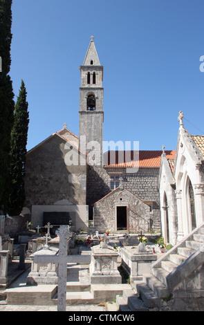 Kirche unserer lieben Frau von den Engeln in Orebic, Kroatien - Stockfoto