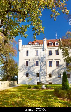 Ryn Castle, Masuren, Polen, Europa - Stockfoto