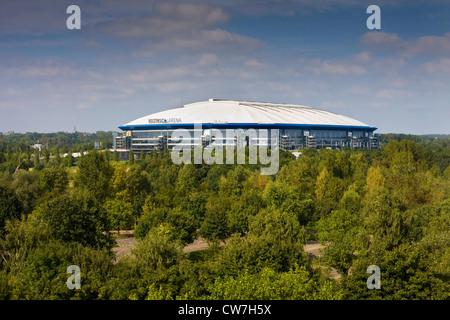 Veltins-Areana Schalke, Deutschland, Ruhrgebiet, Gelsenkirchen - Stockfoto