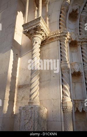 Die Kathedrale von St. James, Sibenik, Kroatien, Europa - Stockfoto