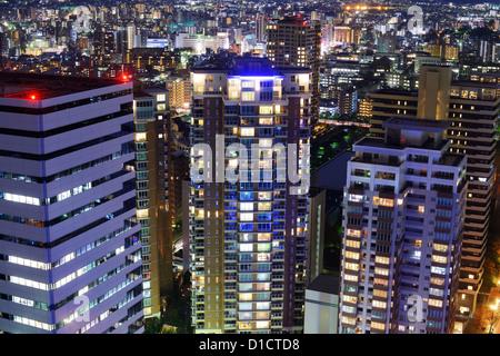 Stadtbild von Fukuoka, Japan. - Stockfoto