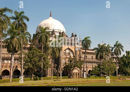 Der Chhatrapati Shivaji Maharaj Vastu Sangrahalaya früher Prince Of Wales Museum der westlichen Indien Mumbai (Bombay) - Stockfoto