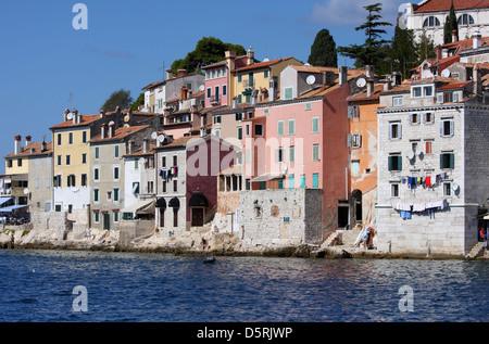 Altstadt Rovinj, Region Istrien, Kroatien - Stockfoto