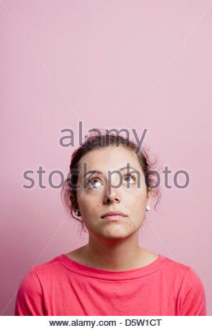 Frau zeigt ihre Gefühle - Stockfoto