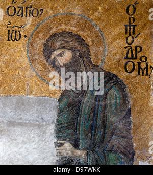 St. Johannes der Täufer von Agia Sophia.Istambul,Turkey. - Stockfoto