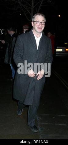 London, UK. 19. Januar 2004. Harry Enfield auf Großfische Film Prem Party, London, UK. - Stockfoto