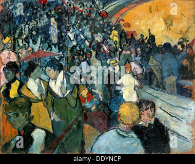 """""""Die Arena in Arles"""", 1888.  Künstler: Vincent Van Gogh - Stockfoto"""