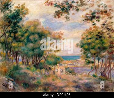 """""""Landschaft bei Beaulieu"""", 1899.  Künstler: Pierre-Auguste Renoir - Stockfoto"""