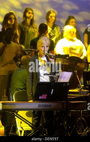 Ein Abend mit Chickenshed bei ITV Studios - Stockfoto