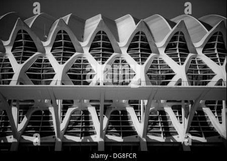 Bilder der Valencia museum kunst Wissenschaft, Valencia, Spanien - Stockfoto