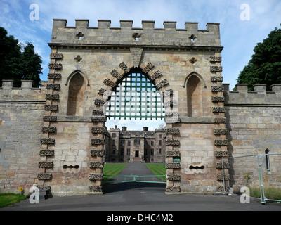 Ford Schloss, Etal, Grafschaft Northumberland, in der Nähe von Ford Castle, England, Großbritannien, Vereinigtes - Stockfoto