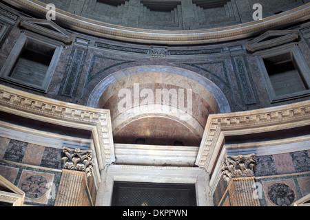 Innere des Pantheon, Rom, Italien - Stockfoto