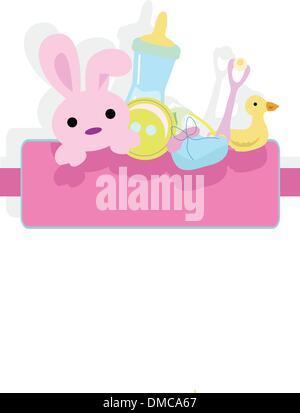 Babys Ankunft Hintergrund - Stockfoto
