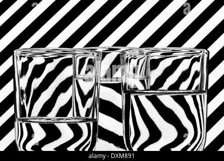 Abstrakte Gläser - Stockfoto