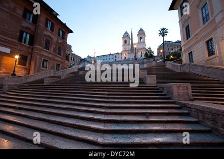 Spanische Treppe, Rom - Italien / Scalinata della Trinità dei Monti - Stockfoto