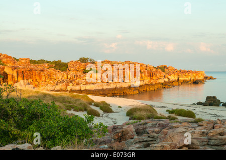 Frühen Sonne auf Bigge Insel, Kimberley, Western Australia, Australien - Stockfoto
