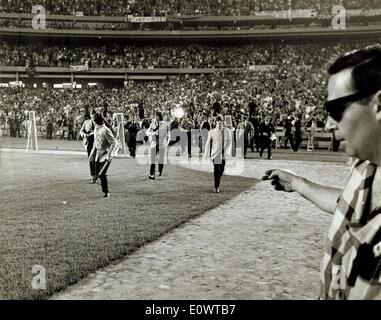 Die Beatles im Shea Stadium - Stockfoto