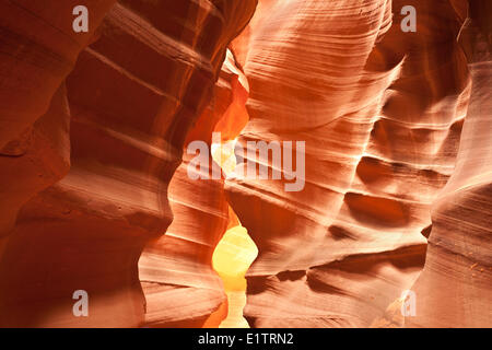 Arizona, Seite, Slot Canyons, Upper Antelope Canyon, USA - Stockfoto