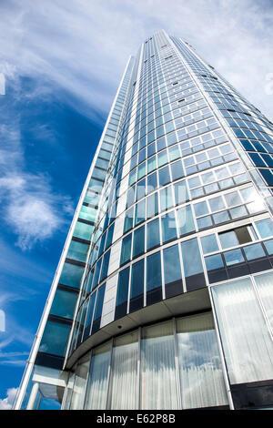 St George Wharf Tower auch bekannt als die Vauxhall-Tower in London, England - die höchsten ausschließlich Wohngebäude - Stockfoto