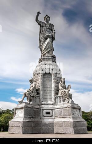 Das National Monument, die Vorfahren in Plymouth, Massachusetts - USA - Stockfoto