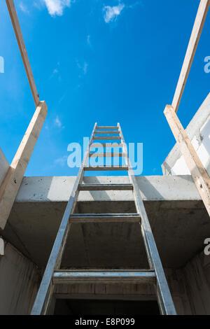 Ihre Art und Weise aufbauen - Stockfoto