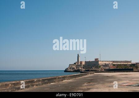 Ein Blick auf den Malecon, Cuba-Havanna - Stockfoto